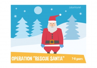 Operation Rescue Santa - 7-8 years